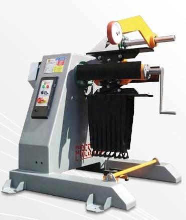 PMD is mechanical Decoiler. Range is between 500kg - 4ton