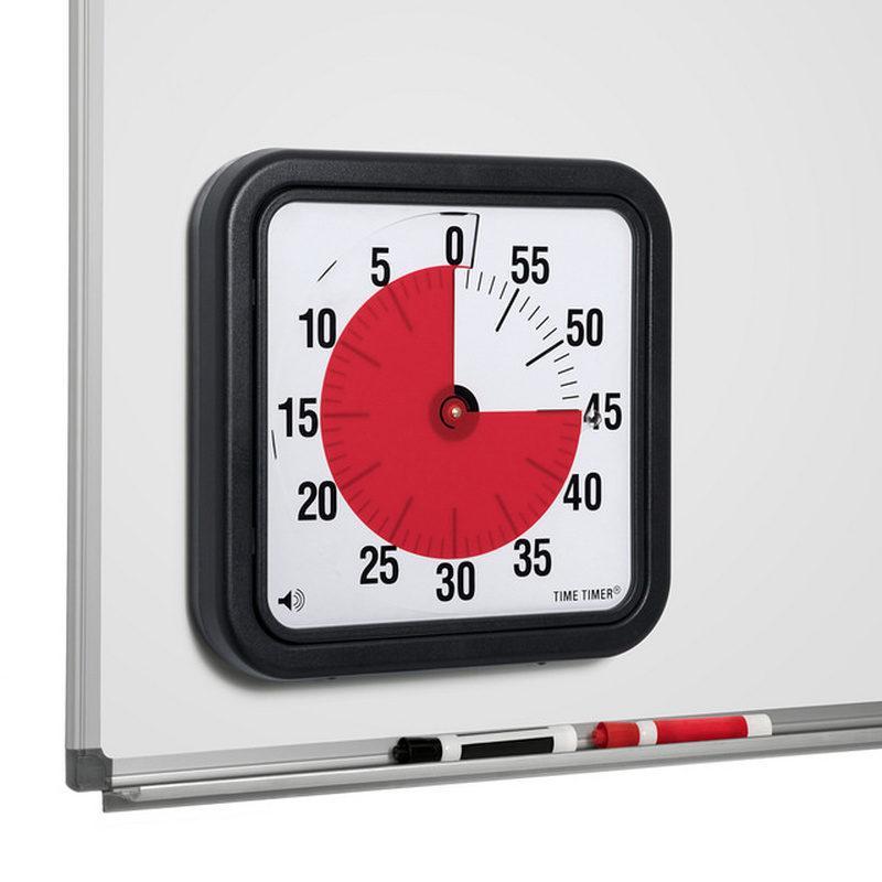 Time Timer Medium MAGNET 18x18 cm MIT SIGNAL