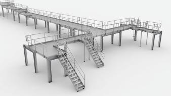 Bühnen aus Stahl