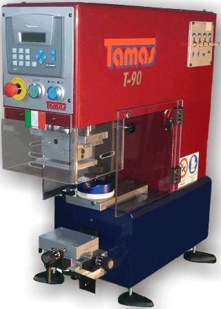 Macchina tampografica di ns. produzione 100% made in Italy modello T90 elettropneumatica.