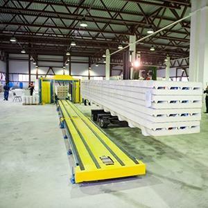 Continuous production line