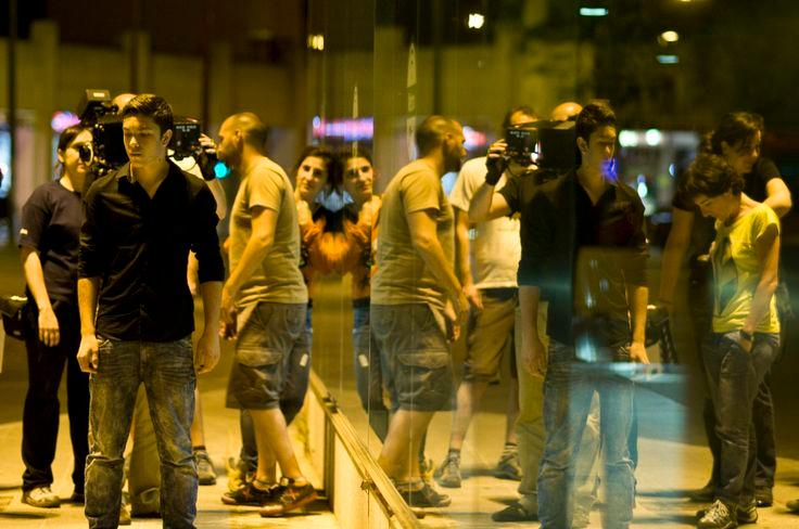 """Shooting the short film """"Celebraciones"""". Por Azhar Media productora audiovisual en Sevilla (Andalucía, España)"""