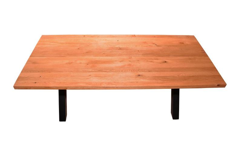 Massive wooden tables