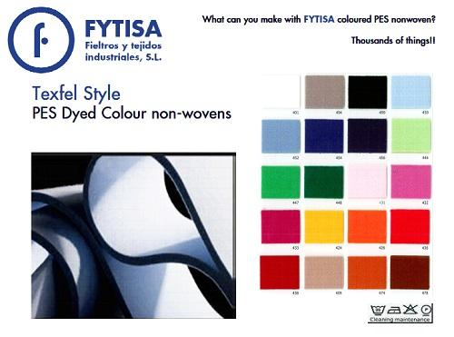 High quality vacum dyed PES Coloured Felt