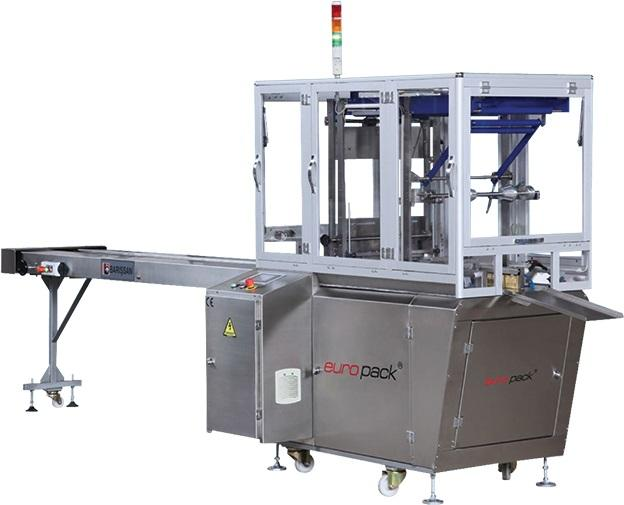 EUROPACK X-FOLD PACKAGING MACHINE