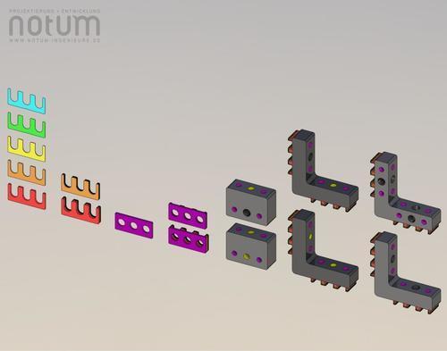 Komponenten des ShimSystem 08-03