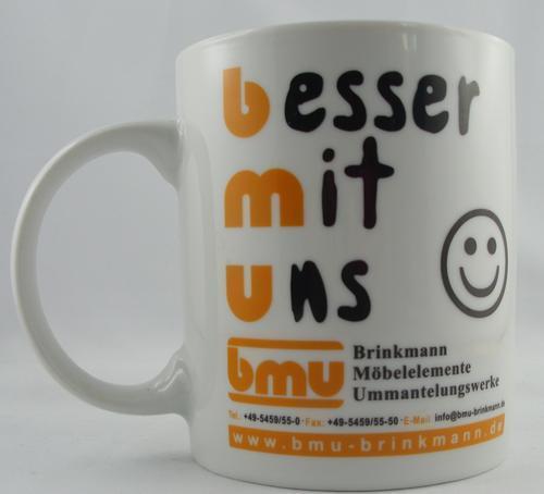 Werbe-Tasse, Becher