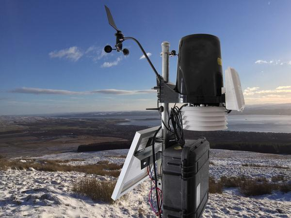 GSM weather stations