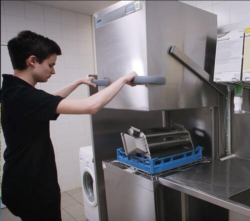 einfache Reinigung in Spülmaschine