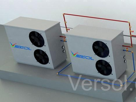 Air Source Heat Pumps & Water Source Heat Pump