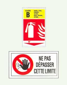 Signalisations de sécurité