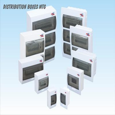 Distribution (control) boxes can be installed in new or buildings in reconstruction. There are several types control boxes with 4, 6, 8, 12, 15, 18, 24, 36 and 45 fuse.