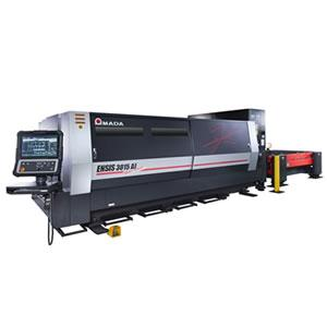 Amada presents a breakthrough in the field of fibre laser metal cutting technology. Using variable beam control technology developed by Amada.