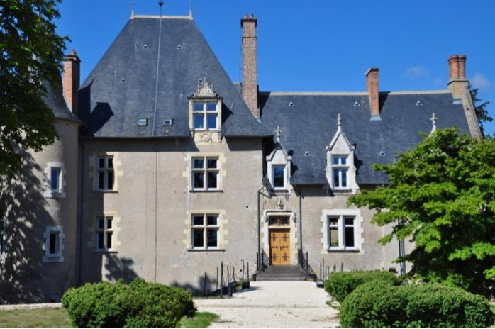 Back-Face picture of the Château d'Origny
