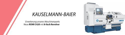 KAUSELMANN-BAIER Unser Maschinenpark