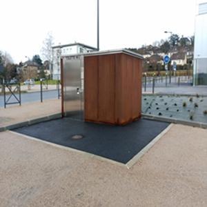 automatic public toilet