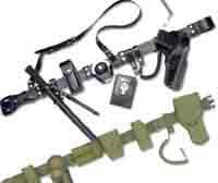 Realizzazione di cinturoni militari