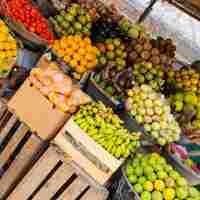 Fruits exotiques en provenance de Côte d'Ivoire
