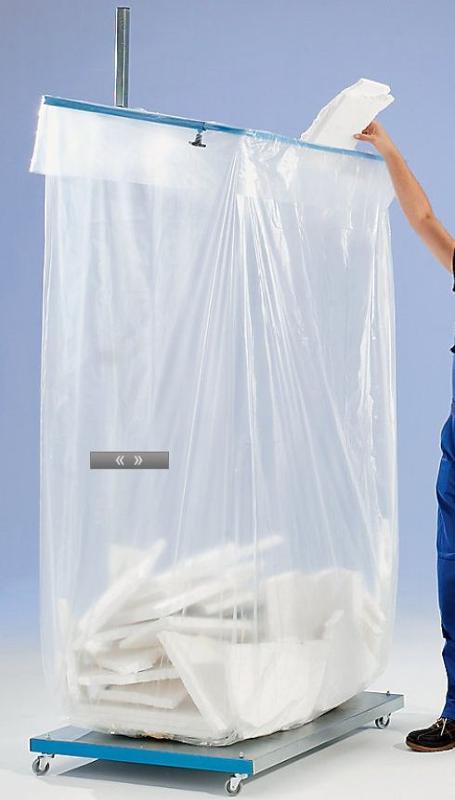 made of polyethylene, transparent