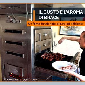 Il nuovo forno a brace Embers Oven va oltre il forno tradizionale. Un forno efficiente, sicuro e funzionale che permette di cucinare piatti diversi in una sola volta con tre diverse temperature.