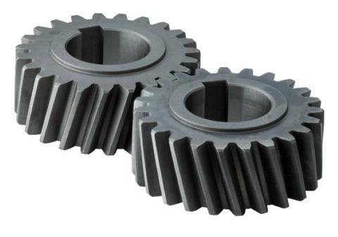 Materiale: ferro K2D - Lavorazione: tornitura e dentatura