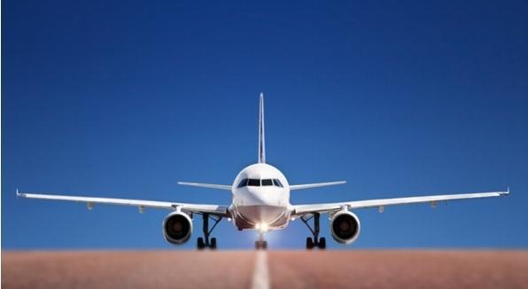 Départ en avion