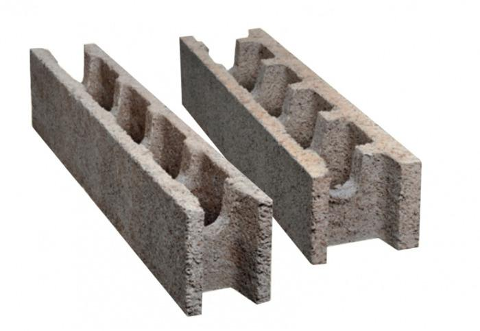 Steine ohne integrierter Wärmedämmung