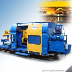 Automatic rail weld grinding machine