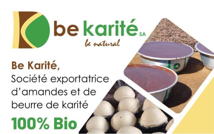 Export d'amandes et de beurre de karité bio