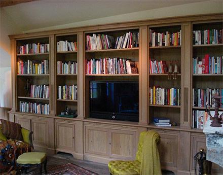 Bibliothèques Menuiserie RIGOBERT