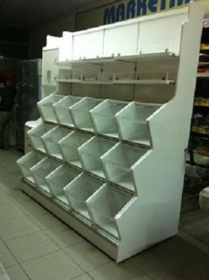 wooden furnitures for shops and supermarkets