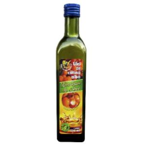Useful properties of vegetable oils are in high content of polyunsaturated fatty acids, phosphatides, tocopherols and other biologically active elements. Vegetable oils are completely free of choleste