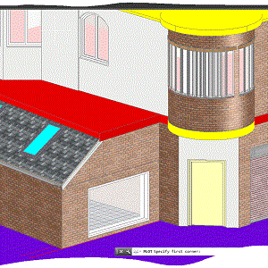 More 3D view