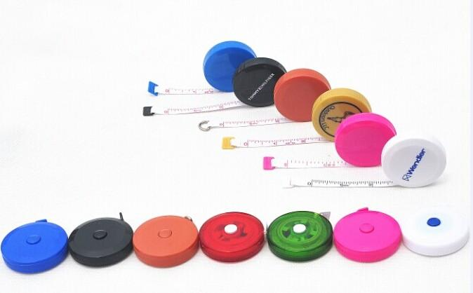 round tape measure for promotional gifts or fitness or medical