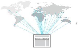 Les membres d'EUROPAGES ont diverses origines géographiques, même s'ils sont surtout européens. Lorsque vous mettez sur pied votre campagne d'e-mailing, vous pouvez choisir le marché que vous visez.