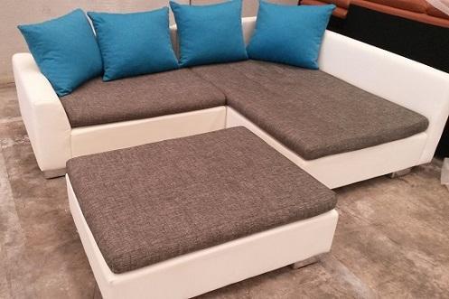 Sofa rincon con puf