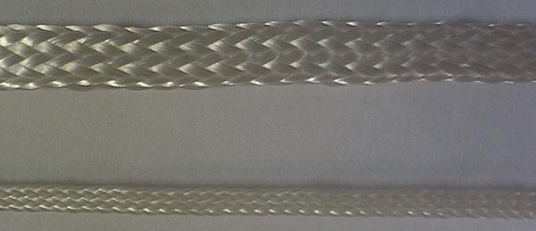Шнур полиэфирный (лавсановый). Диаметр в мм от 1 до 8. Применяются при производстве и ремонте электрических машин (для бандажирования обмоток), а также для изготовления электроизоляционных трубок