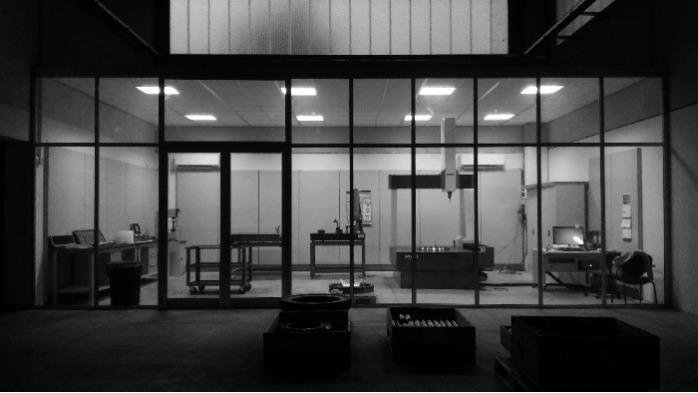 EVOLMEC Srl Italy - Bearing inspection room