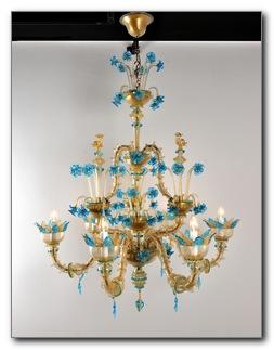 Handmade Murano Chandeliers from Italy Venice on-line shop/ store
