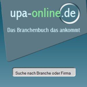 UPA-Online ist ein Internet-Branchenbuch der UPA Verlags GmbH. UPA-Online kann von Unternehmern genutzt werden, um Firmenbeschreibungen, Produktbilder, Kontaktdaten u.ä. zu veröffentlichen.
