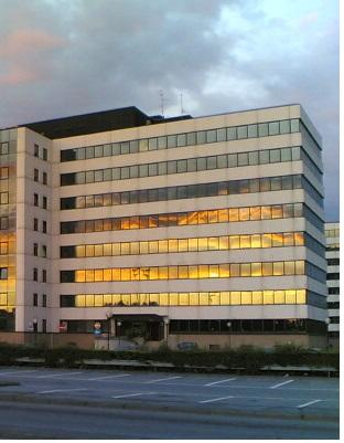 Our main office is a business center near Milan and Monza.