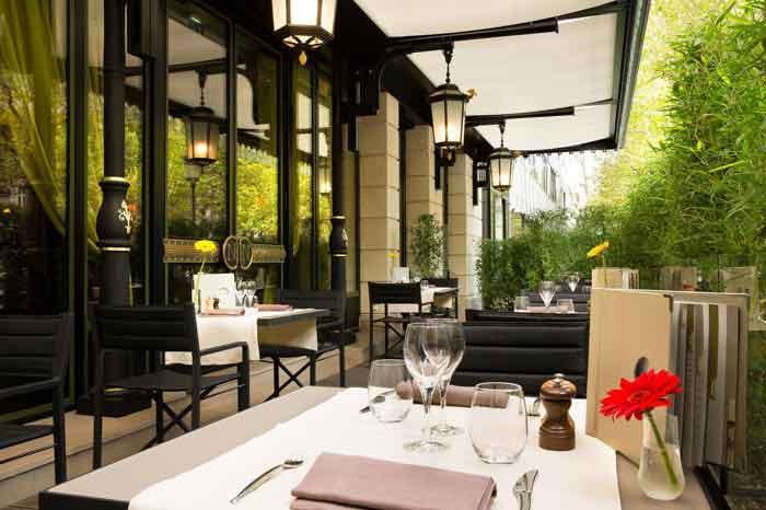 TERASSE HOTEL NAPOLEON PARIS