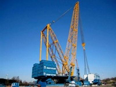 SGC-120, the only true heavy lift 'crane' in the 3200 tonnes capacity range