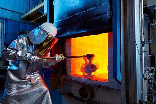 Brennen von Keramikformen