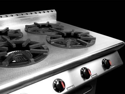 Cocinas profesionales: máquinas y material