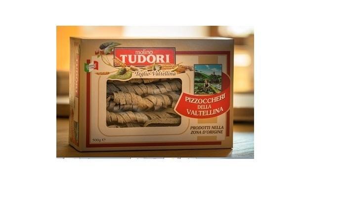 """Pizzoccheri della Valtellina formato """"tagliati"""" - scatola 500 gr Cartone da 12 pezzi"""
