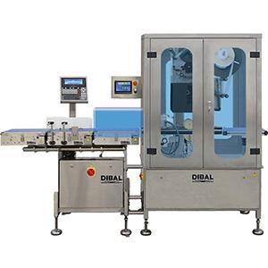 Equipos de pesaje y etiquetado automático de productos en C (envolviendo el producto). Permiten utilizar etiquetas extra largas, con mayor superficie de impresión.