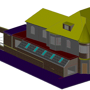 3D - Autocad Architecture