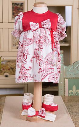 Find a print dress Sophie cheerful, colorful and very bold, printed cotton combination signed by a famous designer taffeta material! Materials used: printed cotton,dos white cotton, satin taffeta