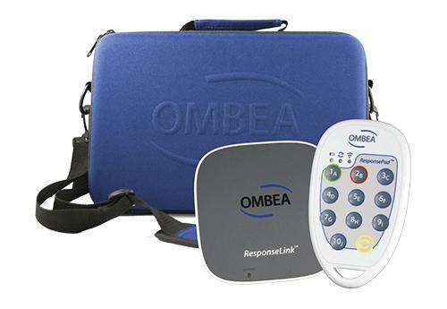 Nos outils Ombea, boitier de vote, récepteur et valisette.